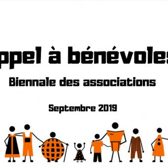 Appel à bénévoles : biennale des associations