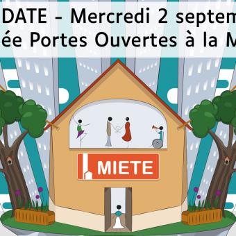 Journée Portes Ouvertes de la MIETE – 2 septembre